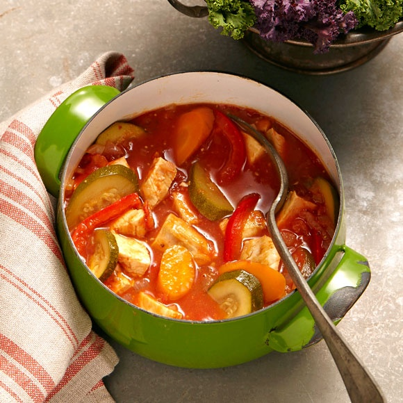 Try our satisfying hunter's chicken casserole recipe